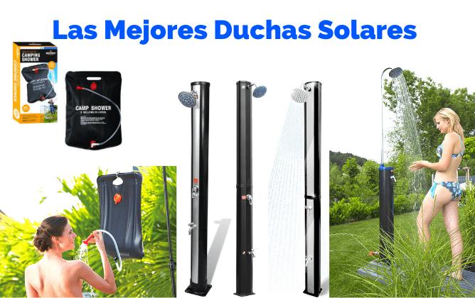 duchas solares