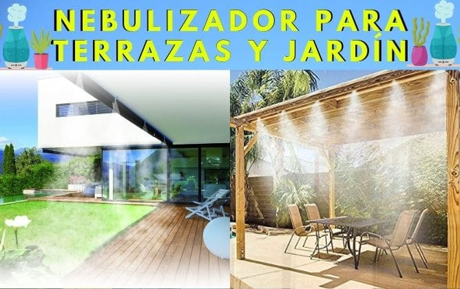 Mejores Nebulizadores para terrazas y jardin
