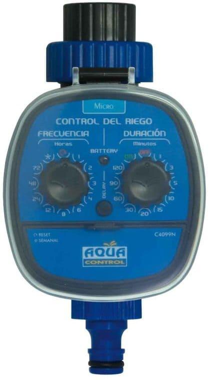 Aqua Control Programador de Riego para Jardín Para todo tipo de Grifos
