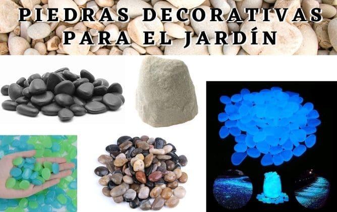 piedras para jardin
